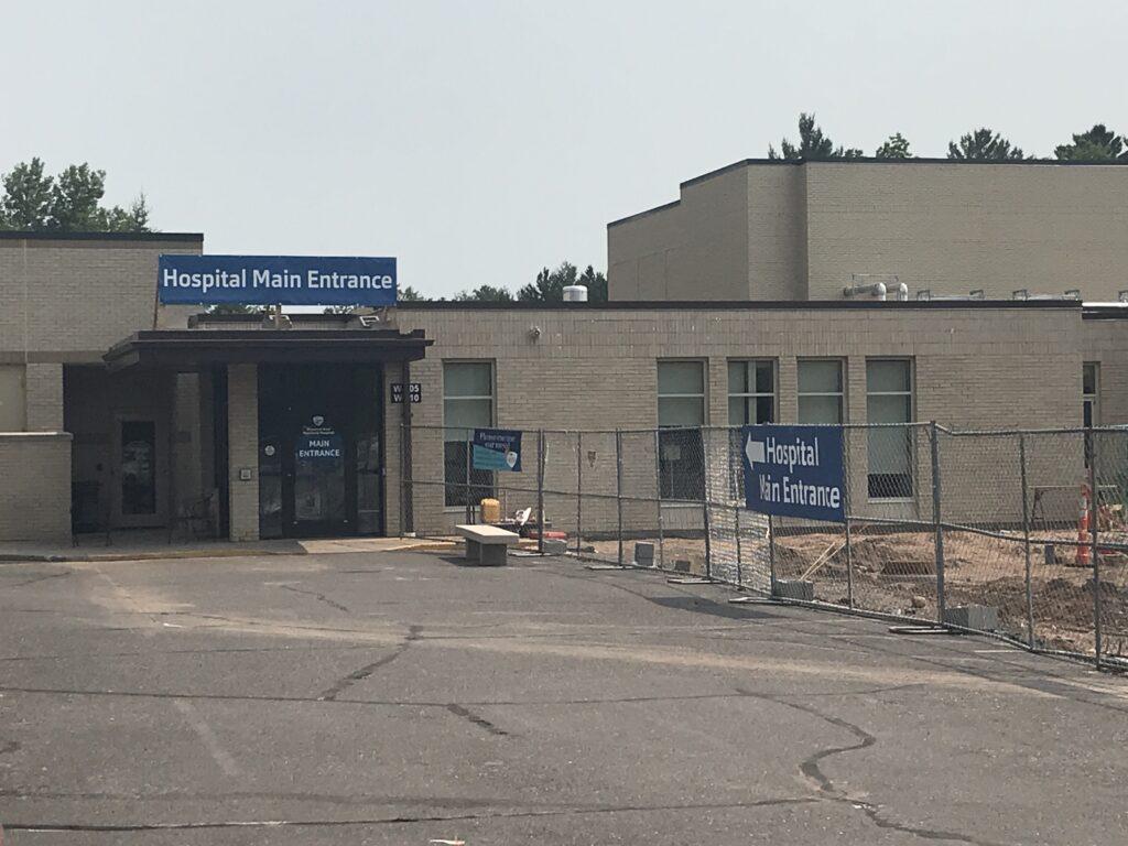 Temporary Hospital Main Entrance