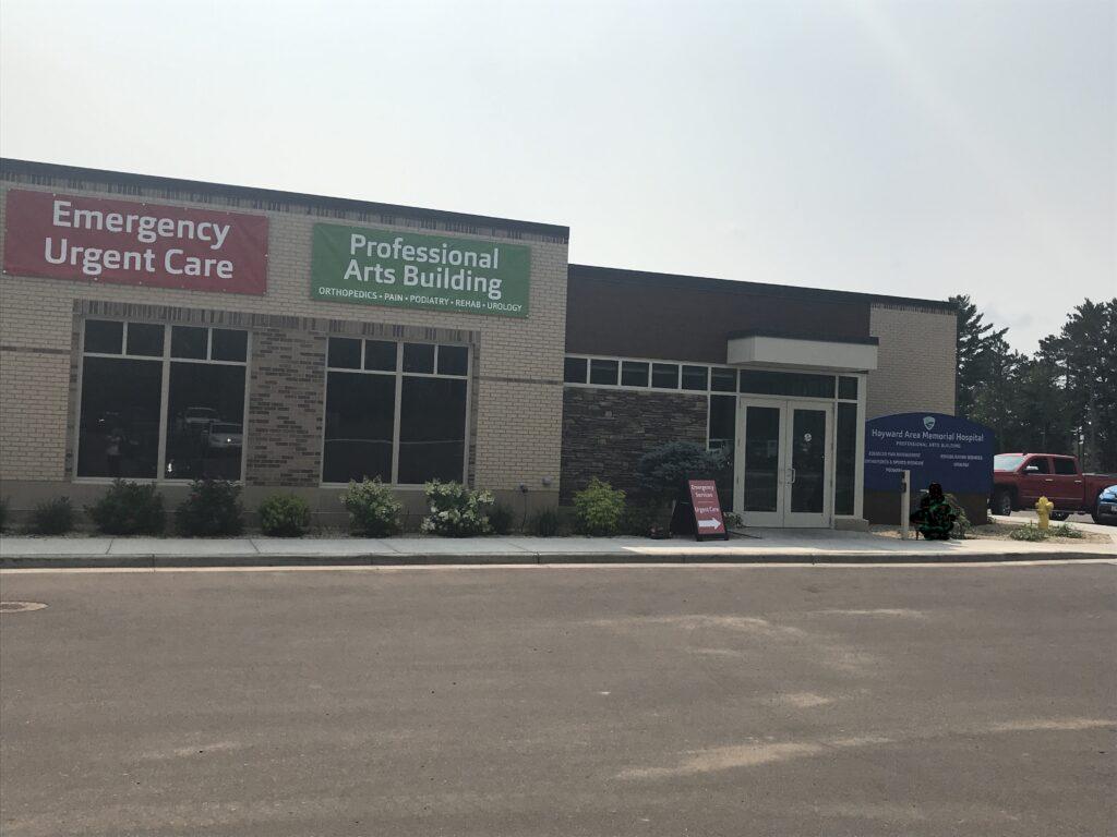 Professional Arts Building Entrance